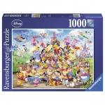 Puzzle Carnavalul Disney Multicolor 1000 Piese