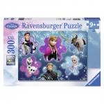 Puzzle Frozen regina ghetii, 300 piese