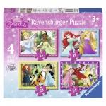 Puzzle printesele disney 12/16/20/24p