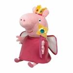 Plus licenta Peppa Pig, printesa (28 cm) - Ty
