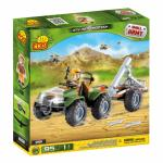 Set de construit ATV cu mortier - Cobi