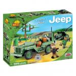 Set de construit Jeep Willys cu tun 2.0 - Cobi