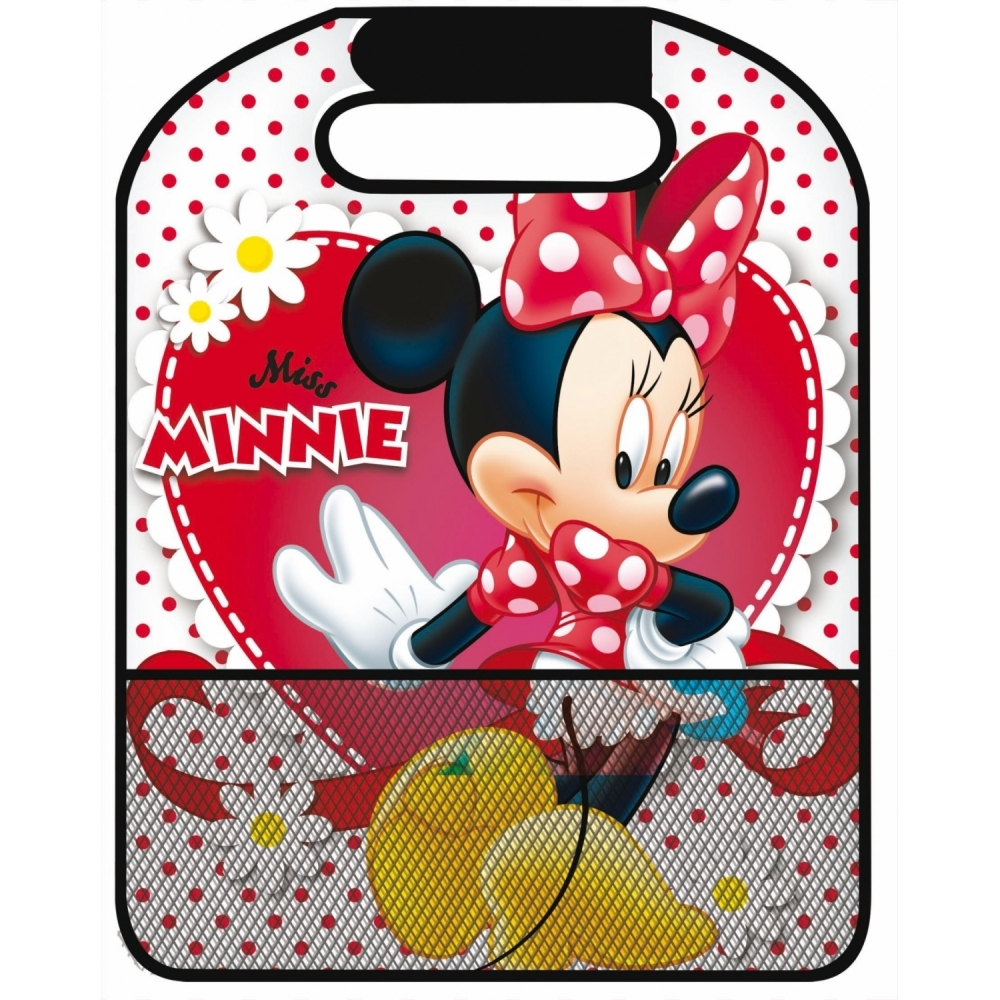 Aparatoare pentru scaun cu buzunar Minnie Disney Eurasia 25764