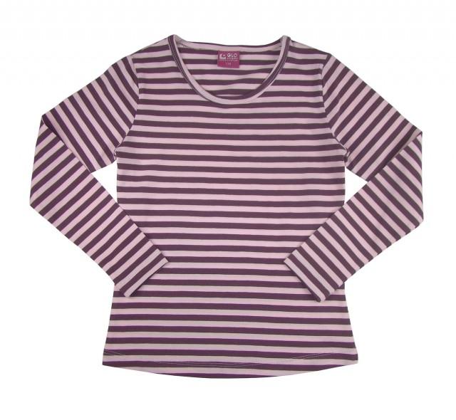 Bluza cu dungi multicolore fete (Masura 122 (6-7 ani))