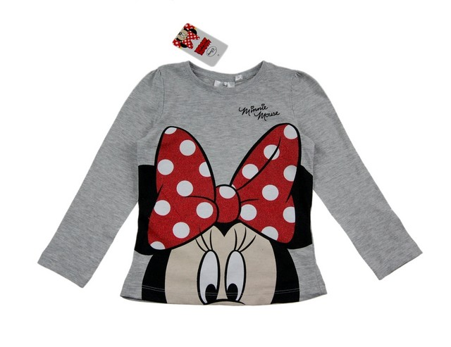 Bluza fete Minnie Mouse (Masura 116 (5-6 ani))