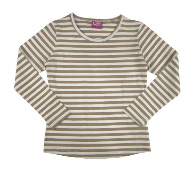 Bluza fetite model cu dungi multicolore (Masura 128 (7-8 ani))