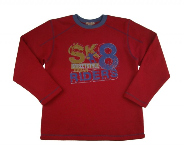 Bluza pentru toamna-iarna baieti Riders (Masura 128 (7-8 ani))