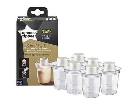 Doza lapte praf x 6 buc Tommee Tippee