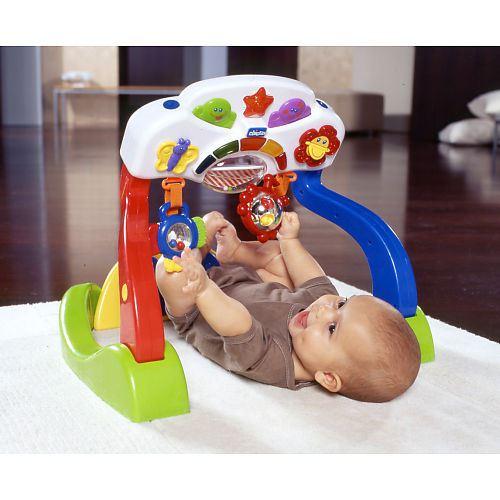 Jucarie Chicco 2 in 1 Sala de sport a bebelusului, 3luni+