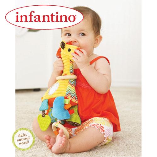 Jucarie Girafa Gaga Busy Buddy Infantino
