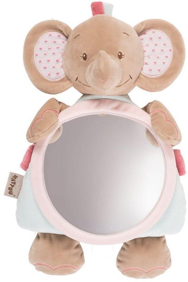 Jucarie din plus cu oglinda Elefantelul Rose