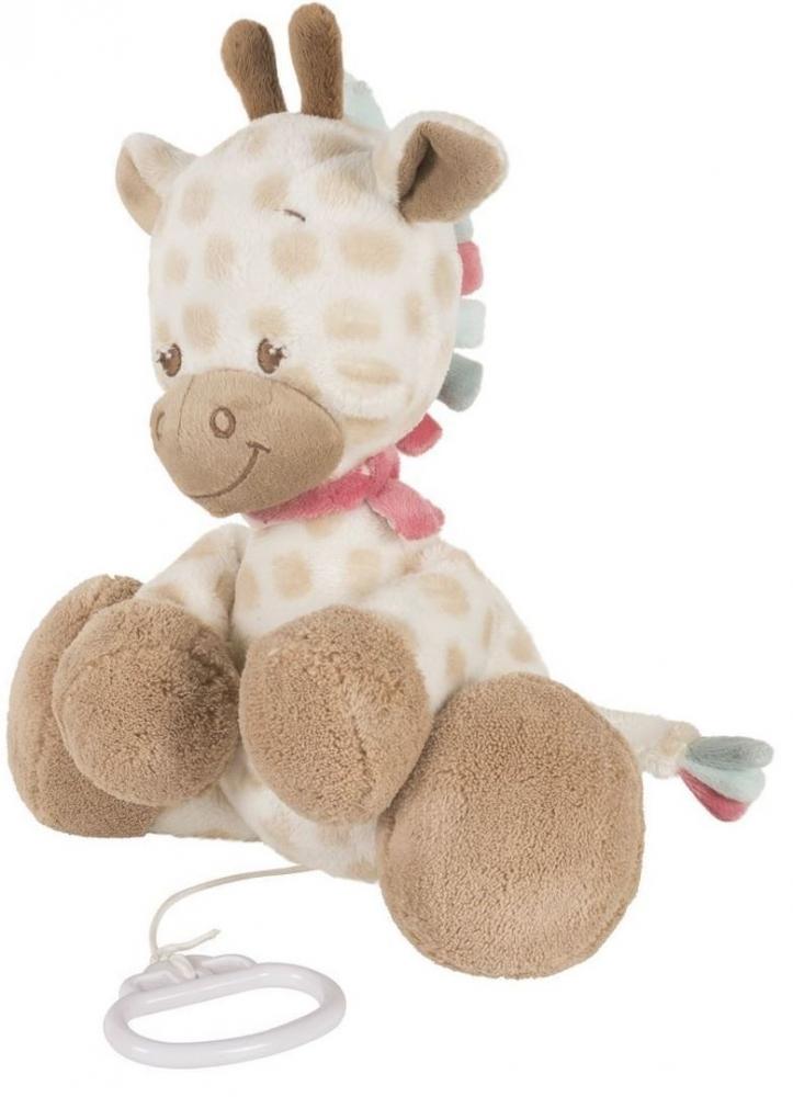 Jucarie muzicala din plus Girafa Charlotte
