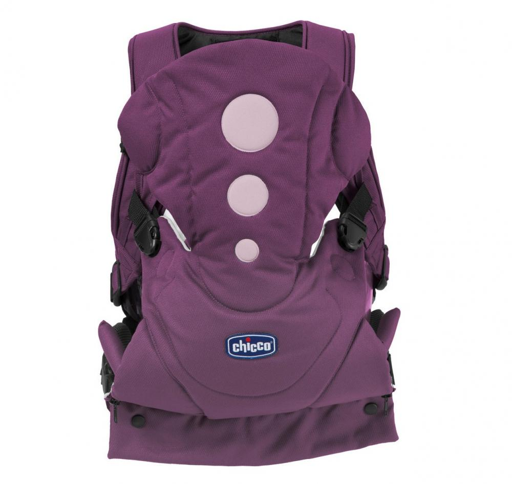 Marsupiu Chicco Close to You, Purple, 0luni+