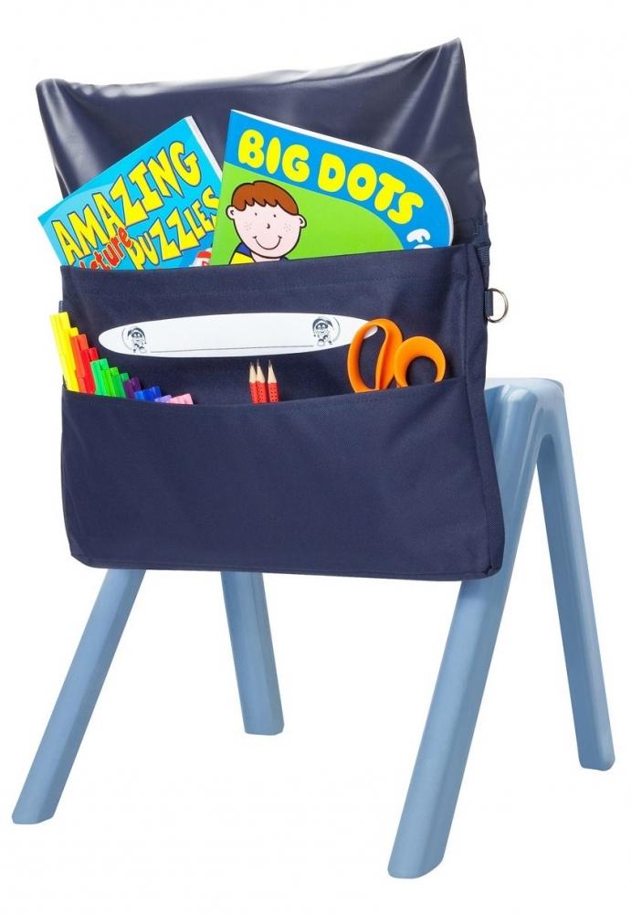 Organizator pentru scaun Bleumarin