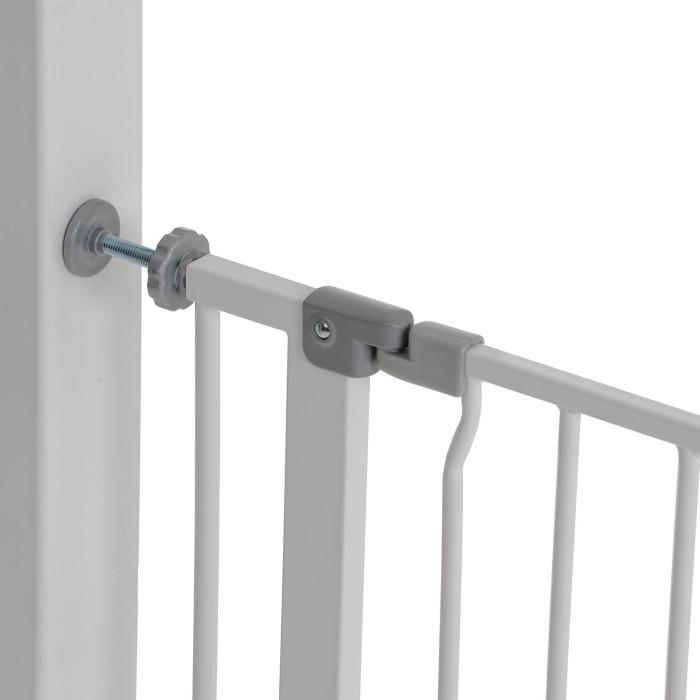 Poarta Siguranta Squeeze Handle Safety GateWhite