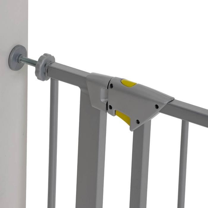 Poarta Siguranta Trigger Lock Safety Gate Silver 75 - 81 cm imagine