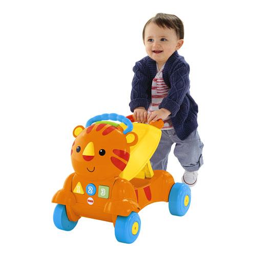 Premergator Fisher-Price 2 in 1 Stride to Ride Musical Tiger