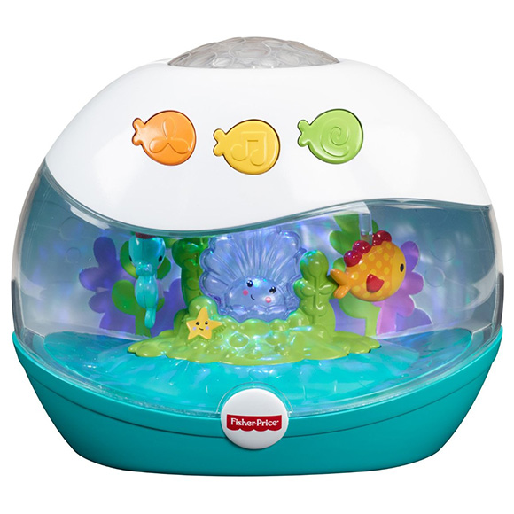 Proiector muzical Calming Seas Fisher-Price