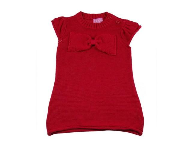 Rochie tricotata Nice Girl (Masura 8692 (1.5 - 2 ani))