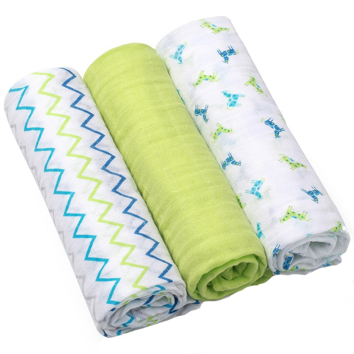 Scutece textile din bumbac set 3 buc Baby Ono 03