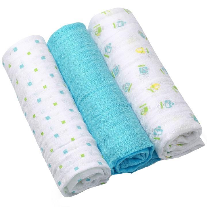 Scutece textile din bumbac set 3 buc Baby Ono 06