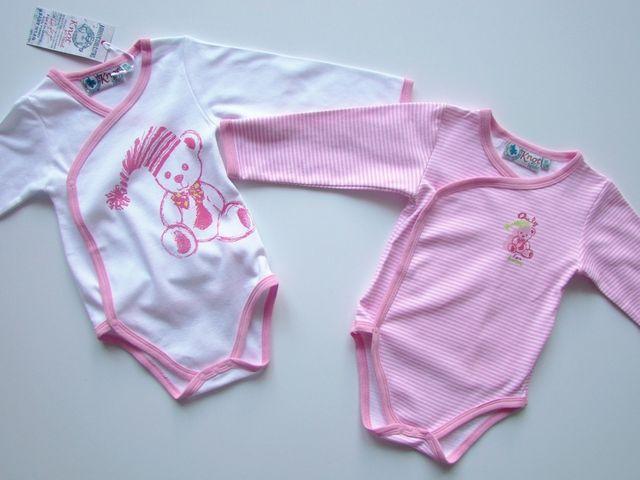 Set 2 bodyuri fetite Baby Bear (Masura 80( 9-12 luni ))