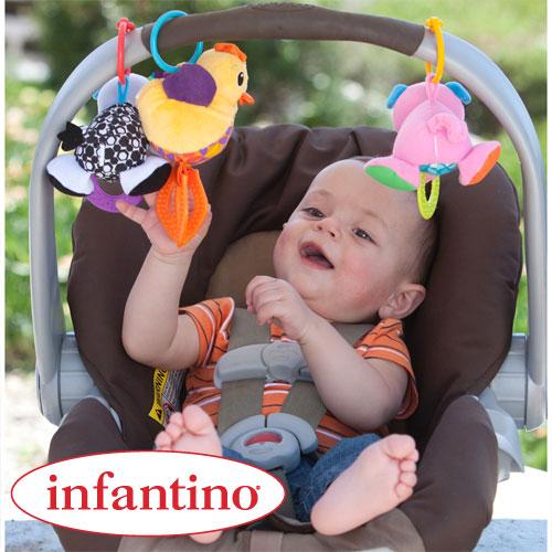 Set 3 jucarii Bebe Barn Infantino