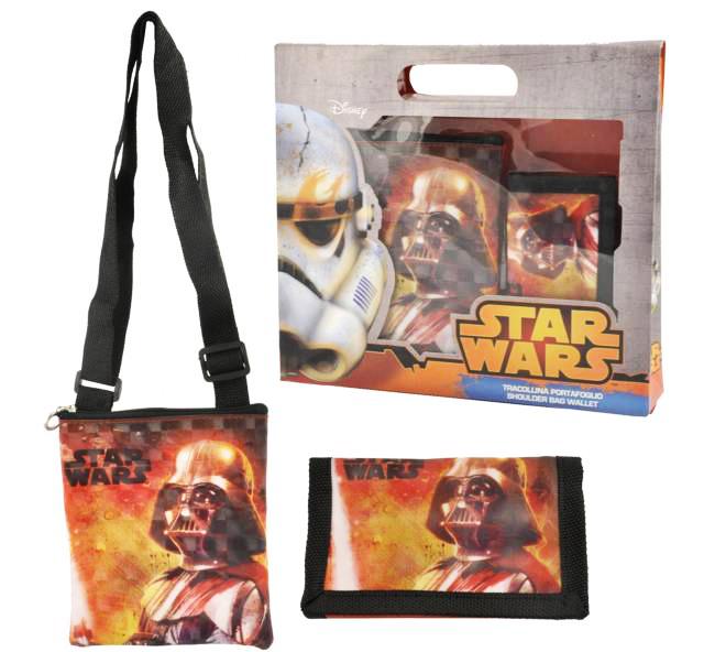 Set cadou gentuta de umar si portmoneu Star Wars Coriex