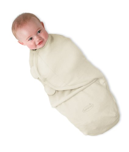 Sistem de infasare pentru bebelusi SwaddleMe Ivory Polar