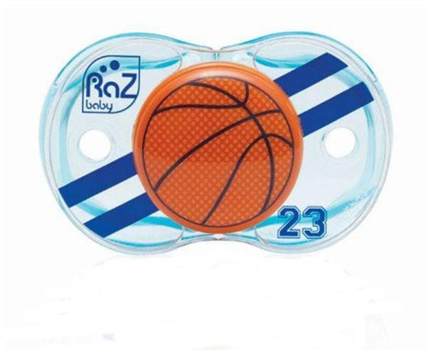 Suzeta Keep it Clean Basketball din categoria Alimentatie de la RAZ BABY