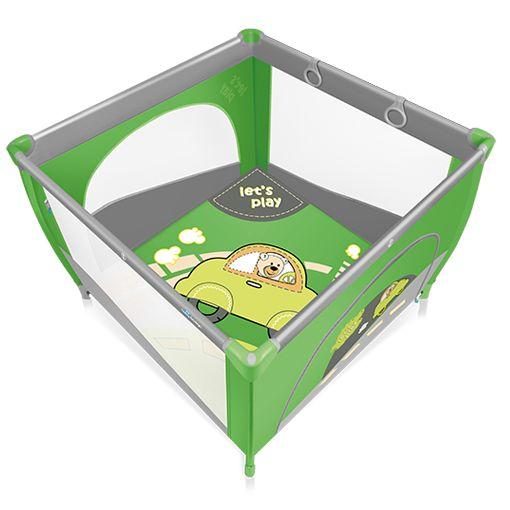 Tarc de joaca  Baby Design Play UP Green cu inele ajutatoare