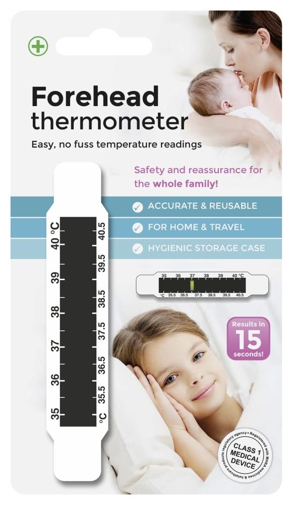 Termometru banda pentru frunte 12L, LCR12ABI