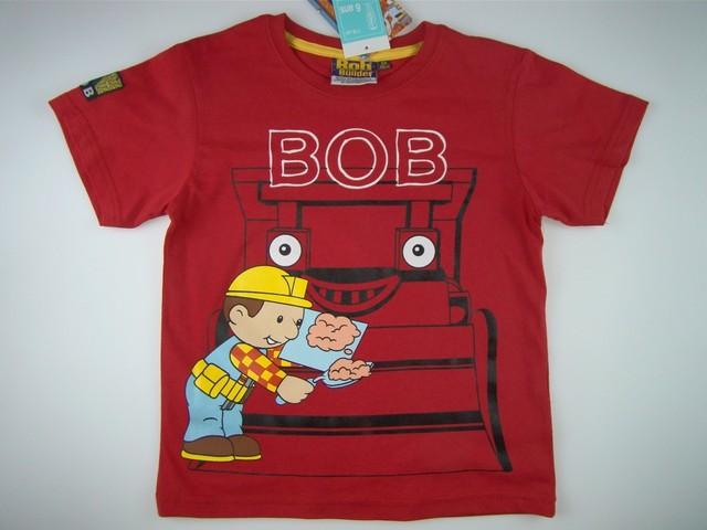 Tricou baieti Bob Constructorul (Masura 128 (7-8 ani))