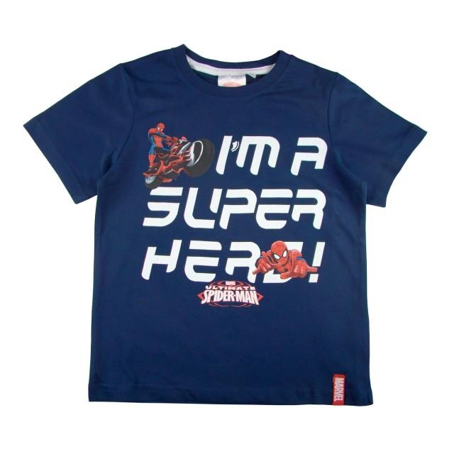 Tricou copii Spiderman (Masura 128 (7-8 ani))