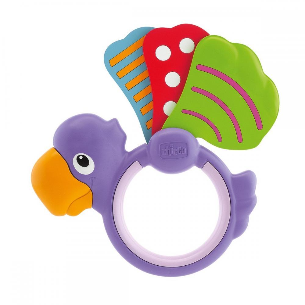 Zornaitoare Chicco papagal Polka Dot 3-18 luni