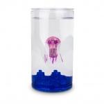 Aquabot Meduza cu acvariu Hexbug roz