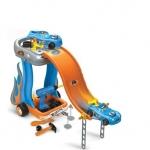 Atelier mobil reparatii plus rampa lansare si masinuta Hot Wheels