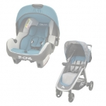Carucior Travel system Metro 2 in 1Osann