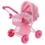 Carucior de Papusi Diana Pram Spring Pink