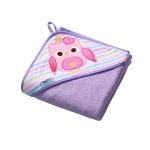 Prosop de baie pentru bebelusi cu capison 100x100 cm Baby Ono Terry 01
