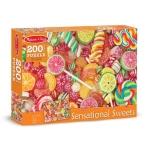 Puzzle 200 piese Acadele si bomboane