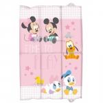 Saltea de infasat pliabila Minnie Disney Eurasia 31361