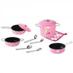 Set bucatarie Barbie Roz