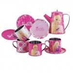 Set metalic ceai Barbie Faro