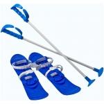 Skiuri Junior Marmat Albastru