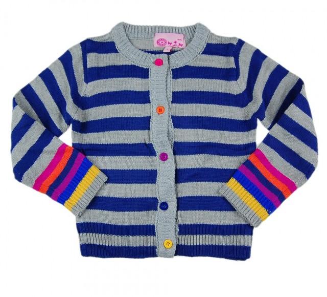 Cardigan fete New Fashion (Masura 104 (3-4 ani))