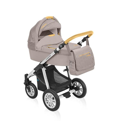 Carucior 2 in 1 Baby Design Dotty Denim Beige
