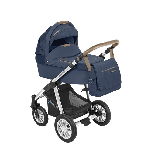 Carucior 2 in 1 Baby Design Dotty Denim Navy