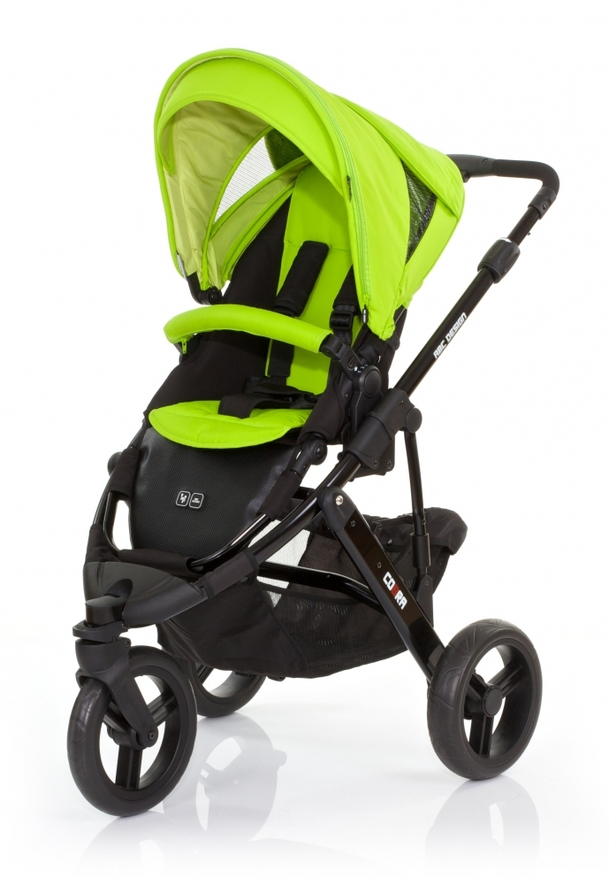 Carucior Cobra Sport Lime 2015 ABC-Design