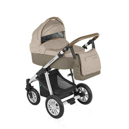 Carucior multifunctional Dotty 2 in 1 Beige